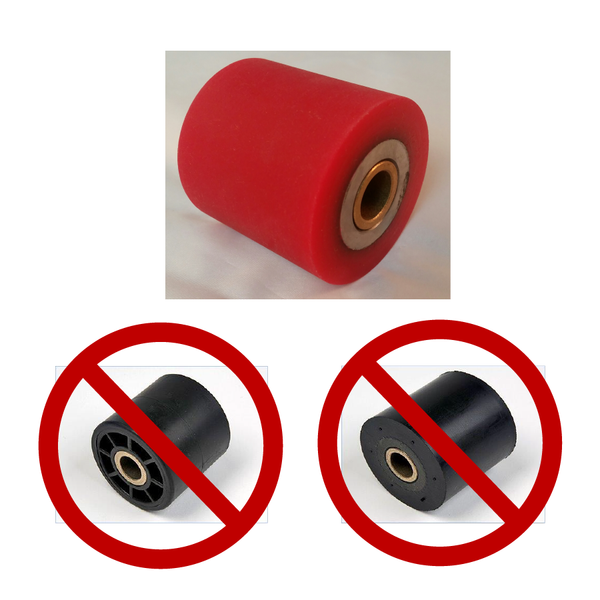 NordicTrack CENTER RUBBER ROLLERS Drive - Catch - Grip - Grab
