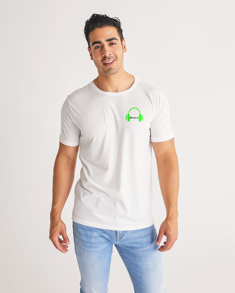 "Men's ""I Live to Rave"" Tee White"