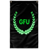 "Black GFU Wall Flag 36""x60"""