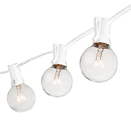 White Globe String Lights