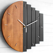 Wooden Abstract Clock