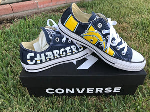 NFL Painted Converse
