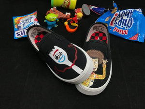 Toy Story's Forky & Woody Vans