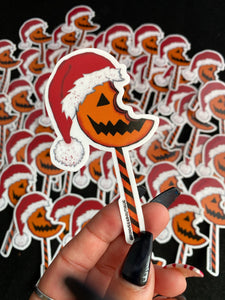 Santa Sam Lollipop Stickers