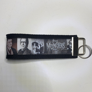 The Munsters Keyfob Keychains