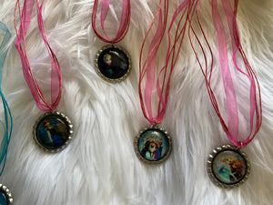Frozen Bottlecap Necklaces
