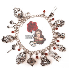 Load image into Gallery viewer, #2 Horror Themed Charm Bracelet