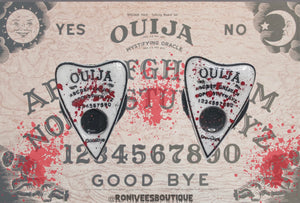 Blood Splatter Ouija Planchette Phone Grips