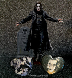 The Crow Eric Draven Heart Phone Grips