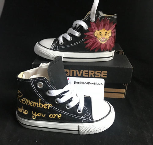 Disney's Lion King Simba Converse