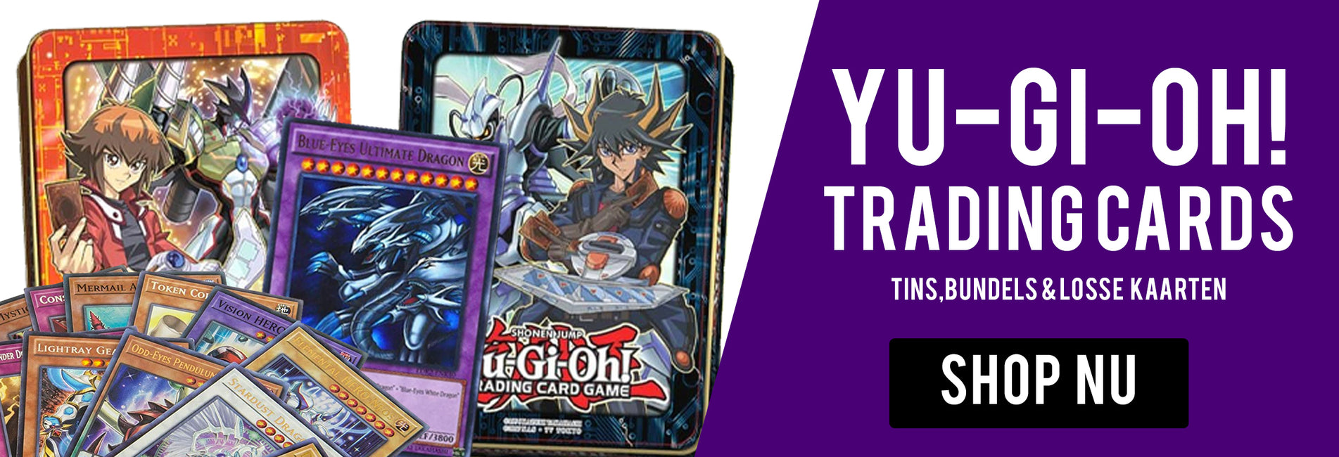 Yu Gi Oh! trading cards