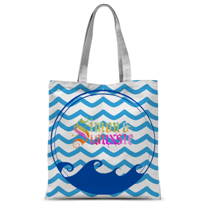 Beach Collection: Ocean Breeze Classic Sublimation Tote Bag