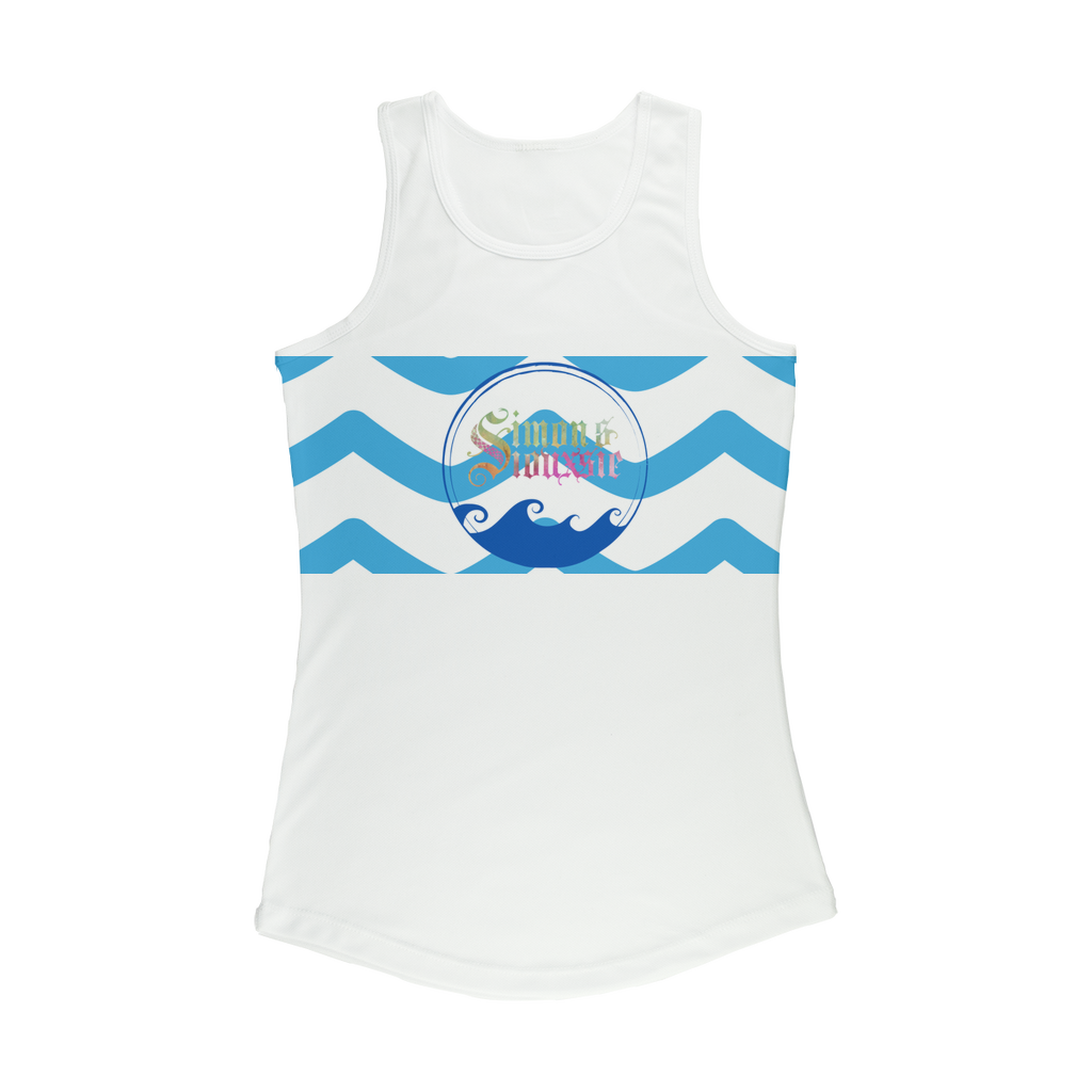 Beach Collection: Ocean Breeze Women Performance Tank Top