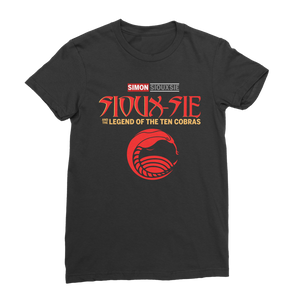 Sioux-sie And The Legend of the Ten Cobras T Shirt for Women