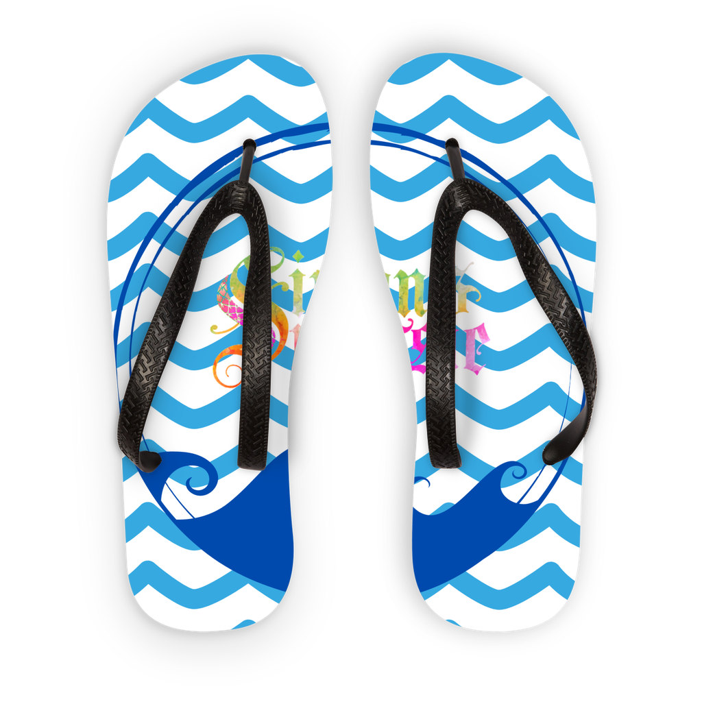 Beach Collection: Ocean Breeze Kids Flip Flops