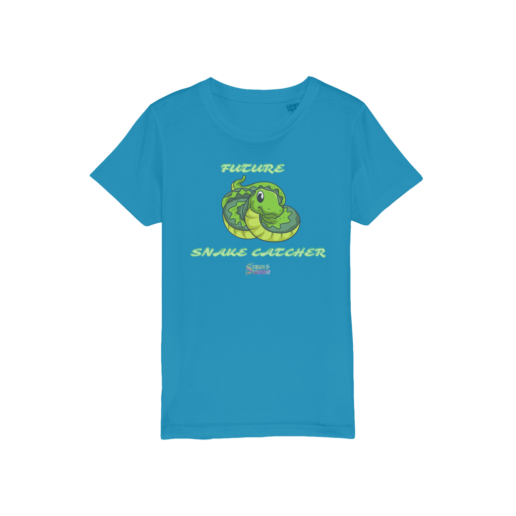 Future Snake Catcher Organic  Kids T-Shirt