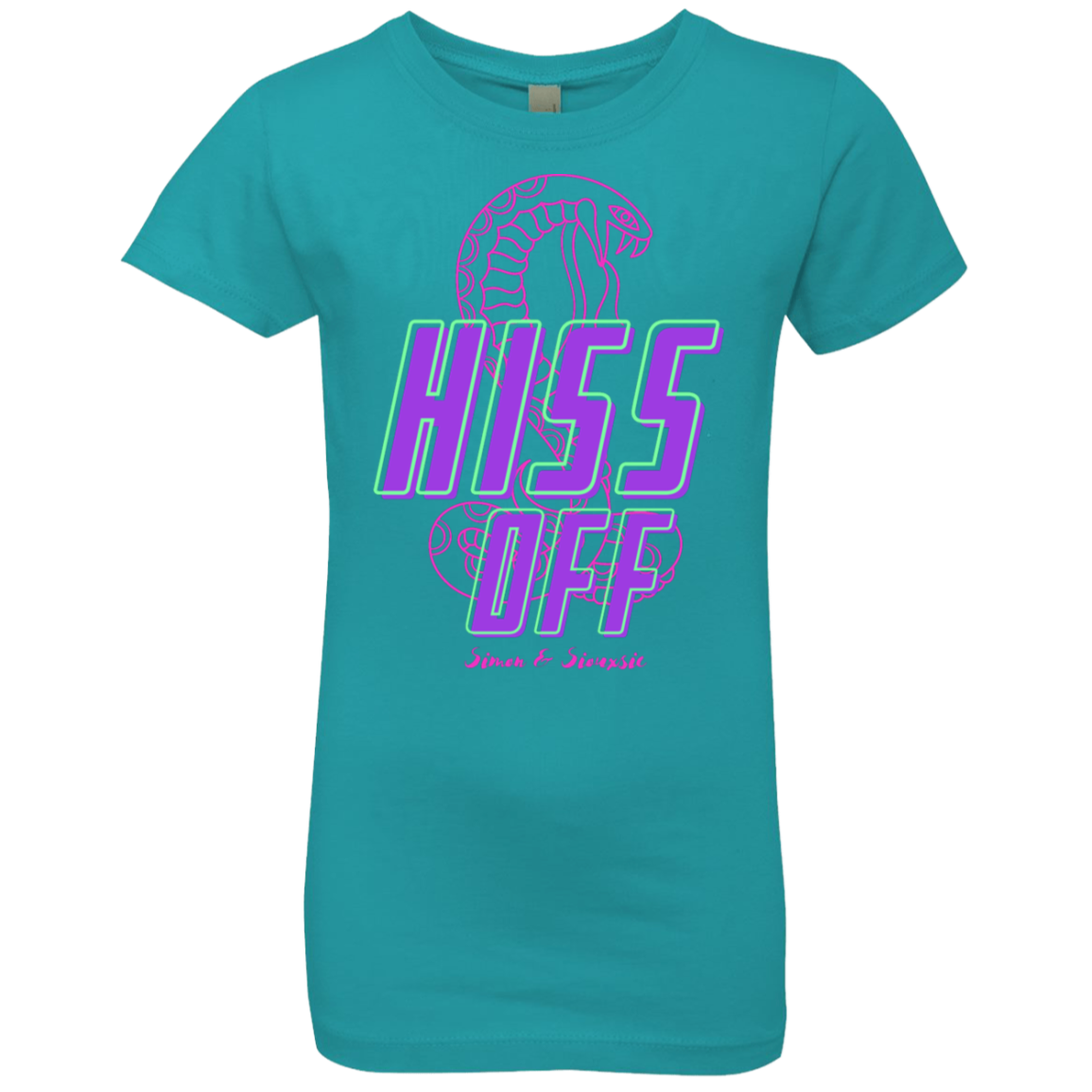 Hiss Off Girls' Princess T-Shirt 03