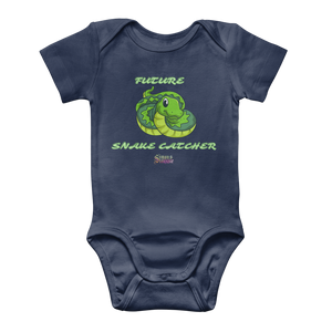 Future Snake Catcher Baby Onesie