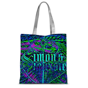 Beach Collection: Green Mamba Tote Bag
