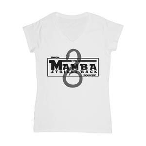 The Mamba Strikes Back Women's V-Neck T-Shirt