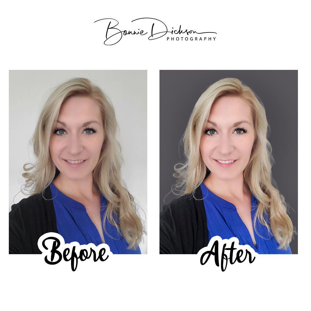 Virtual Headshot - Before & After