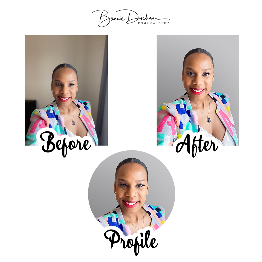 Sample Profile Picture - Before & After