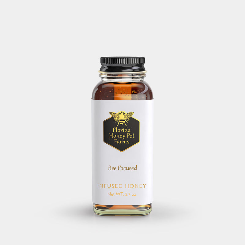 CBD infused honey for alertness and focus