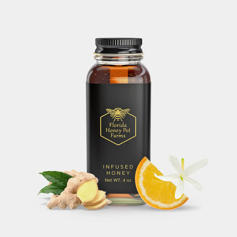 Ginger Orange Blossom Honey
