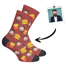 Laden das Bild in den Galerie-Viewer, Individuelle Burger Socken