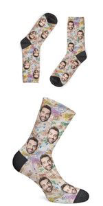 Personalisierte MONEY Socken