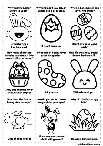 Easter Jokes Print Out