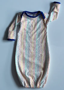 Baby Organic Cotton Night Gown (Multi-dots)