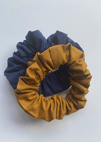 Gold Scrunchies