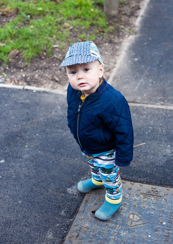 Child Cycling Cap