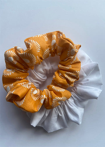 Orange Scrunchies