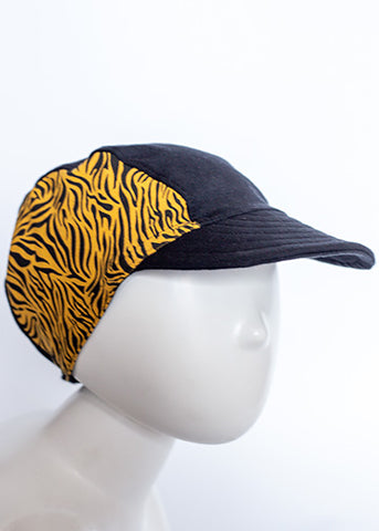 Adult Cycling Cap (Tiger)