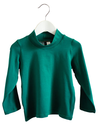 Organic Cotton Turtle Neck (green)