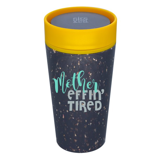 Circular Cup 12oz Cream & Honest Green // PERSONALIZE ME!