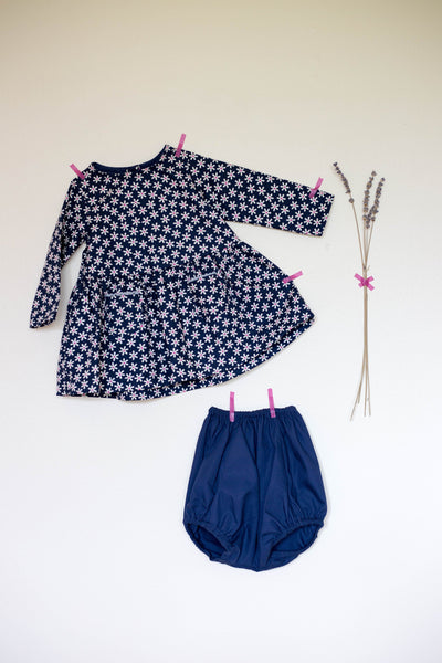 Daisy Dress (Navy)