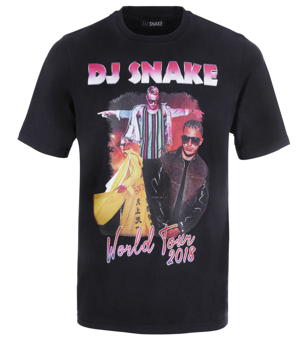 DJ SNAKE WORLD TOUR 2018 TSHIRT