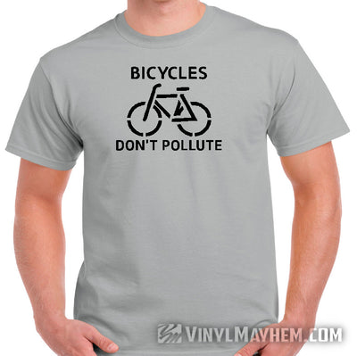 Bicycles Don't Pollute T-Shirt