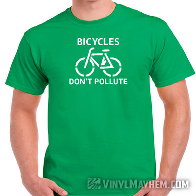 Burn Fat Not Fuel Bicycle T-Shirt