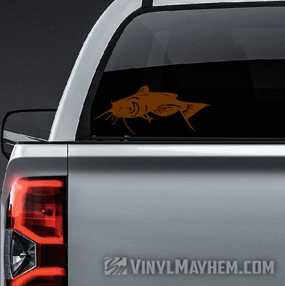 Catfish vinyl sticker