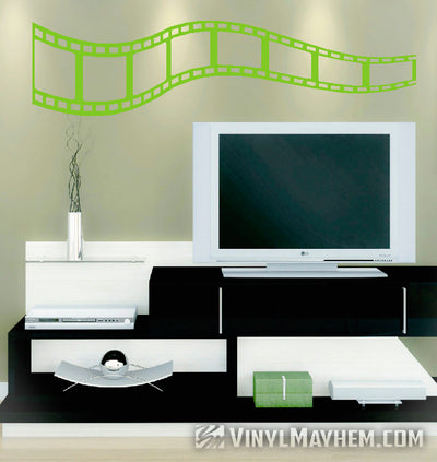 Filmstrip vinyl sticker