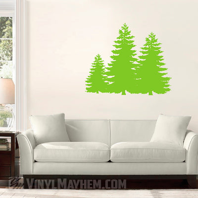 Forest Trees vinyl sticker