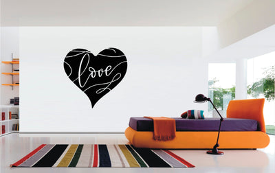 Heart Love vinyl sticker