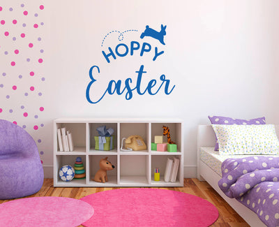 Hoppy Easter vinyl sticker