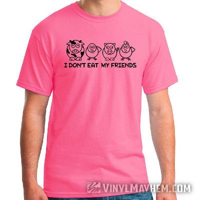 I Don't Eat My Friends T-Shirt