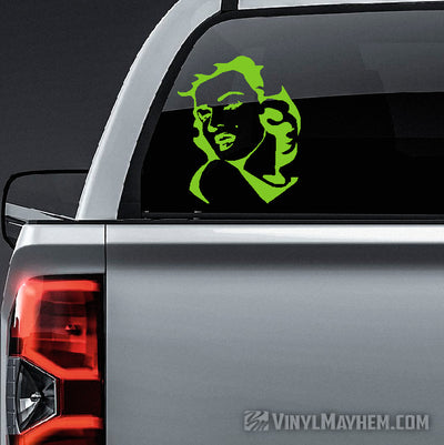 Marilyn Monroe sexy pose vinyl sticker