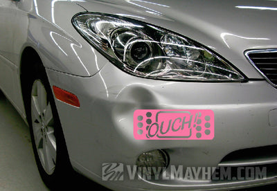 Ouch Bandage vinyl sticker